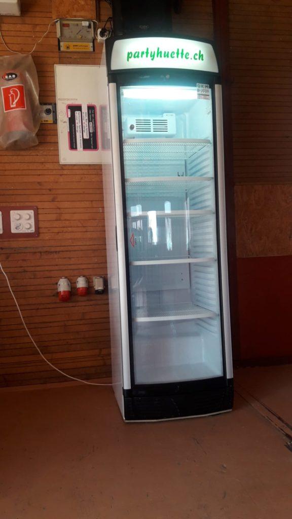 Im Sommer ist Kühlschrank inkl.